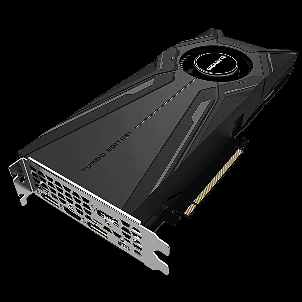 Placa de Vídeo Gigabyte Geforce RTX 2080 8GB Turbo OC DDR6 - GV-N2080TURBO OC-8GC 1.0A