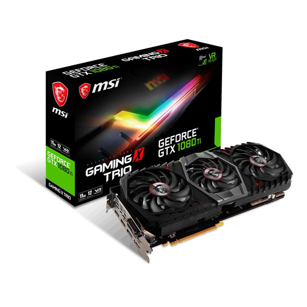PLACA DE MSI VÍDEO GTX 1080TI 11GB GAMING X TRIO - 912-V360-047