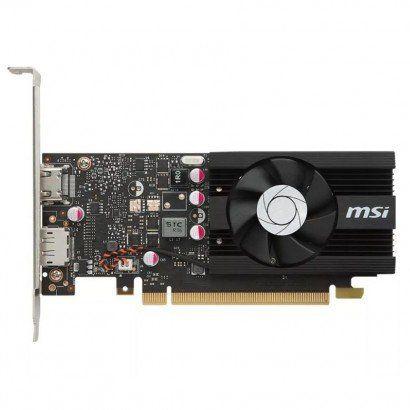 Placa de Video MSI Geforce GT 1030 2GD4 LP OC - 2GB DDR4 64 BITS - 912-V809-2826 - ESP