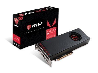 Placa de Video MSI Radeon RX Vega 64 8GB HBM2 2048 BITS - Radeon RX Vega 644 8GB