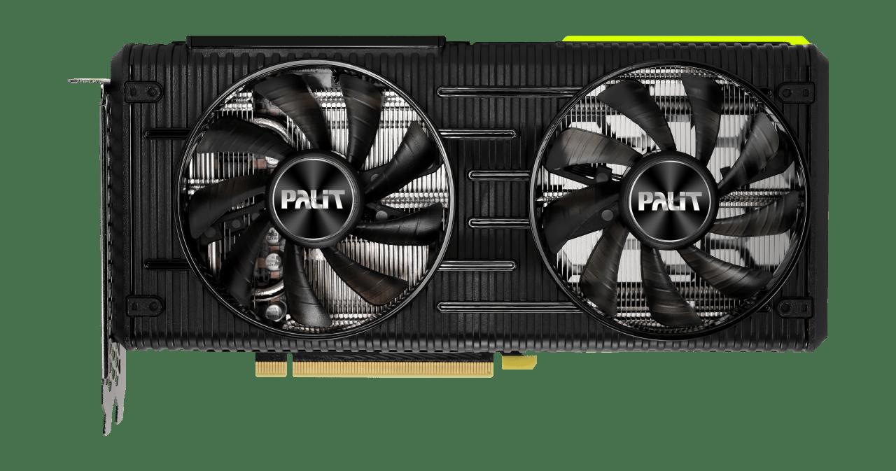 Placa de Vídeo Palit GeForce RTX 3060 Ti Dual 8GB GDDR6 - NE6306T019P2-190AD