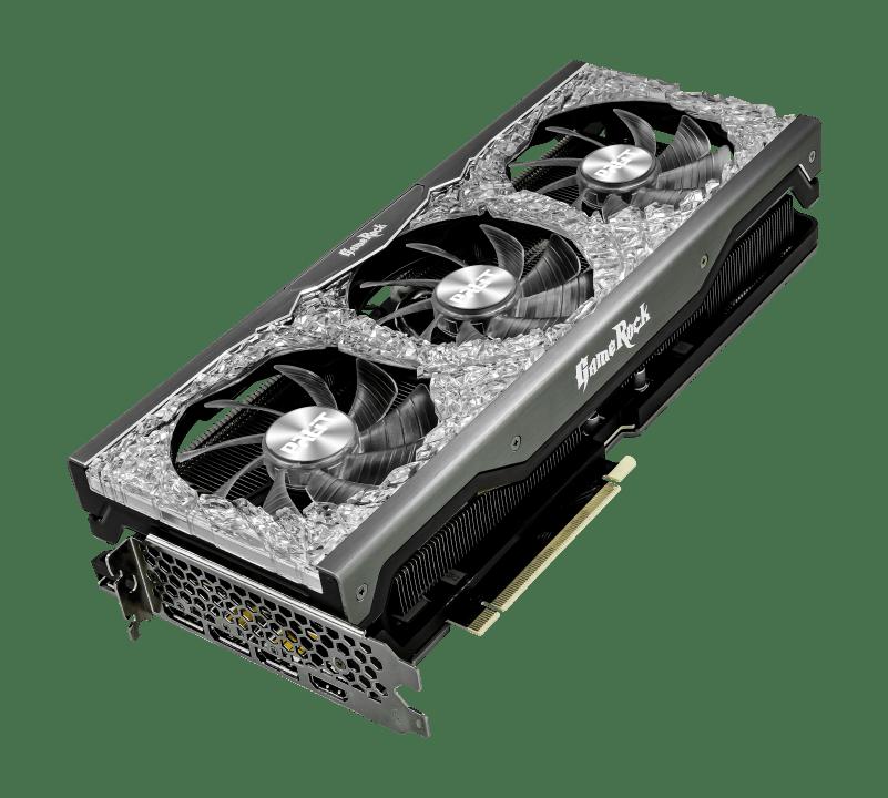 Placa de Video Palit GeForce RTX 3070 GameRock OC 8GB GDDR6 256Bits - NE63070H19P2-1040G