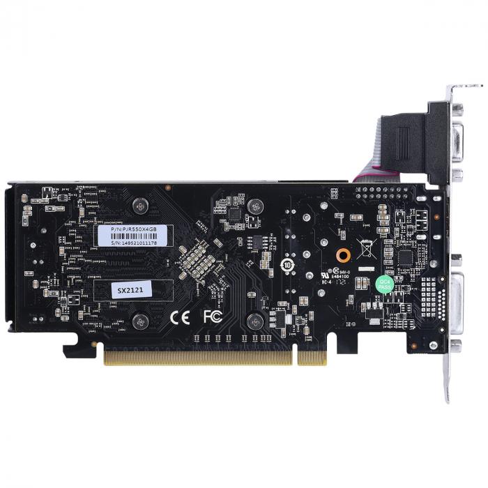 PLACA DE VÍDEO PCYES RADEON RX 550 4GB GDDR5 128 BITS - PJR550X4GB