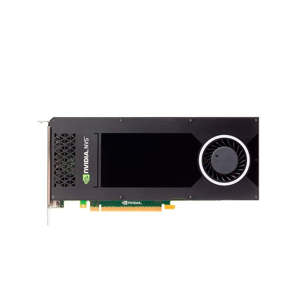 Placa de Video PNY Quadro NVS 810 4GB DDR3 128BITS - VCNVS810DVI-PB