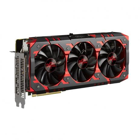 Placa de Video Power Color Radeon AXRX Vega 56 8G HBM2 2048 BITS - AXRX Vega 56 8GBHBM2-2D2H/OC