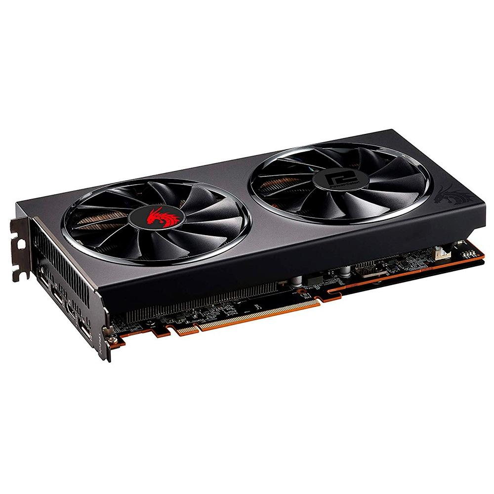 Placa de Video Power Color Radeon RED Dragon RX5700XT 8GB GDDR6