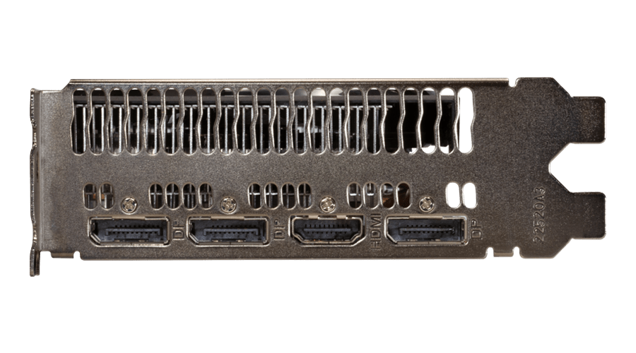 Placa de Video Power Color Radeon RX5600XT 6GB GDDR6 - AXRX 5600XT 6GBD6-3DHV2/OC