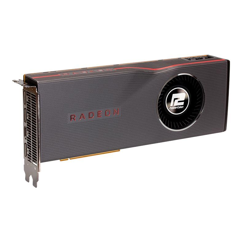 Placa de Vídeo Power Color Radeon RX 5700 XT 8GB DDR6 - AXRX 5700XT 8GBD6-M3DH