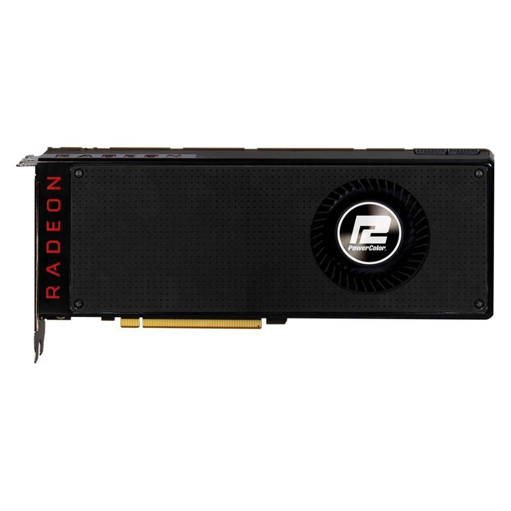 Placa de Video Power Color Radeon  RX Vega 64 8GB HBM2 2048 BITS - AXRX Vega 64 8GBHBM2-3DH