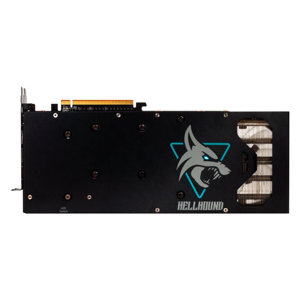 PLACA DE VIDEO POWER COLOR RX 6700 XT HELLHOUND 12GB GDDR6 192-BITs AXRX 6700XT 12GBD6-3DHL