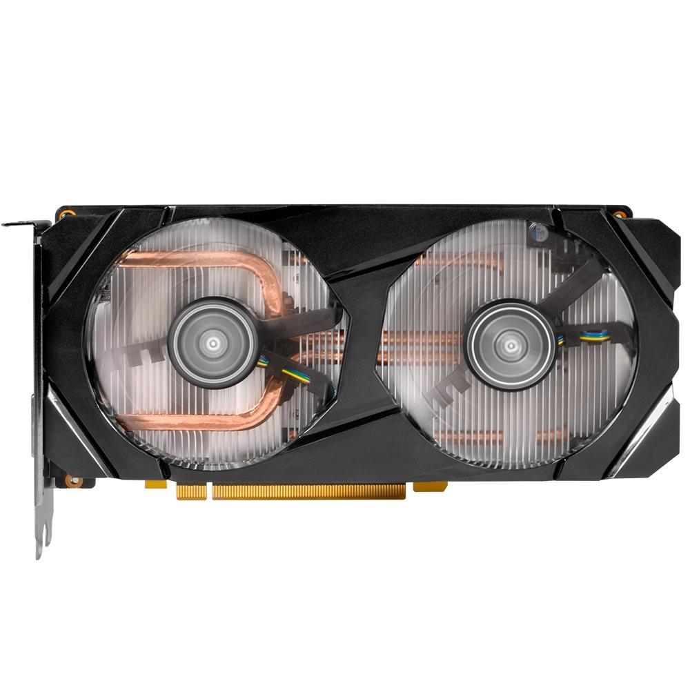 Placa de Video Gerfoce Galax  RTX 2060 6GB 1CLICK OC G6 192B Galax 26NRL7HPX7OC