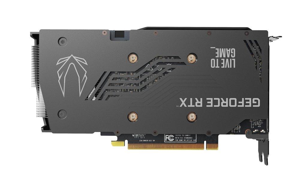 PLACA DE VÍDEO ZOTAC GEFORCE RTX 3060 TWIN EDGE OC 12GB GDDR6 192 BITS - ZT-A30600H-10M