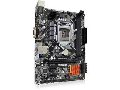 Placa Mae ASROCK Micro ATX (1151) DDR4 - H110M-HG4 - Bios Atualizada - 7A GER
