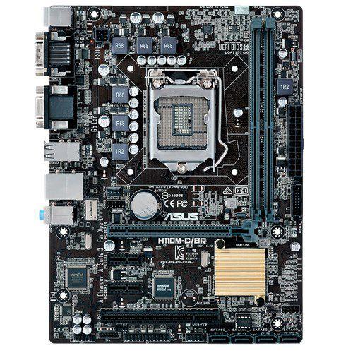 Placa Mae ASUS MATX (1151) - H110M-C/BR