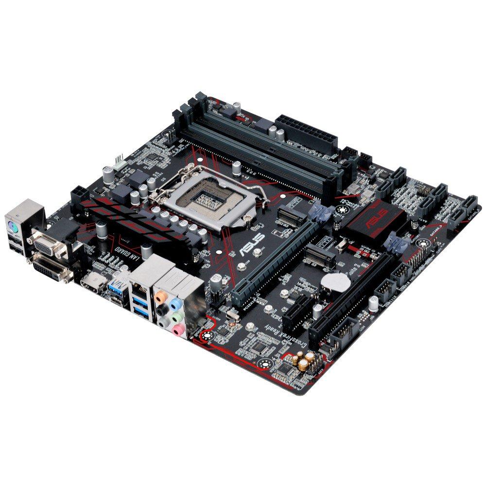 Placa Mae ASUS Micro ATX LGA (1151) - DDR4 - B250M-PLUS/BR