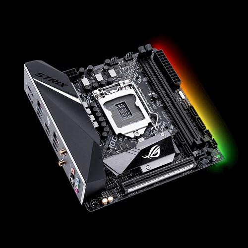 Placa Mae ASUS ROG STRIX H370-I MITX (2XDIMM) DDR4 - ROG-STRIX-H370-I-GAMING