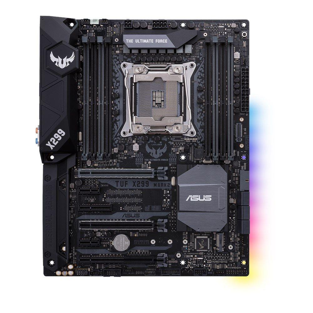 PLACA MÃE ASUS TUF X299 MARK 2 LGA2066 USB3.1 90-MB0UB0-M0EAY0