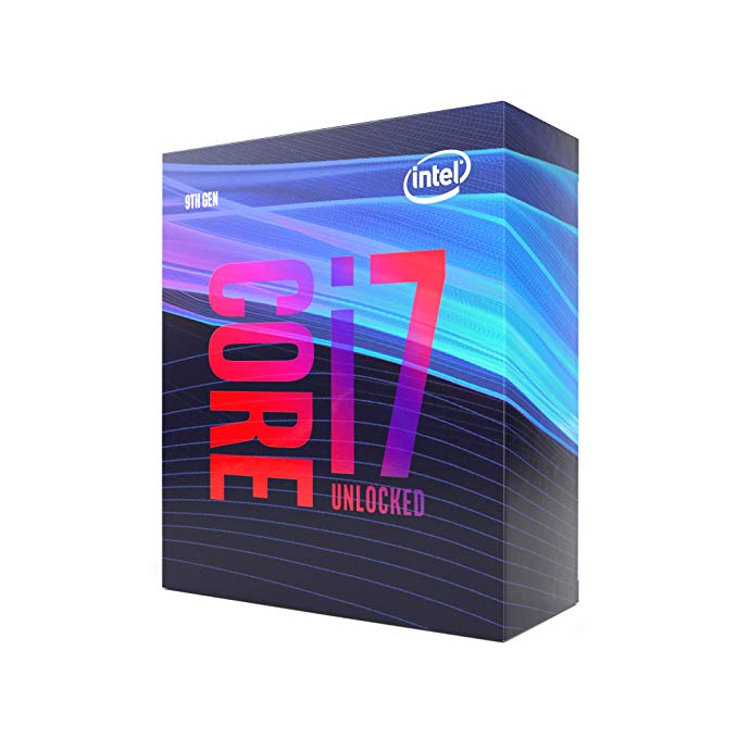 Processador INTEL 9700K Core I7 (1151) 4.90 GHZ BOX -  BX80684I79700K - 9O GER
