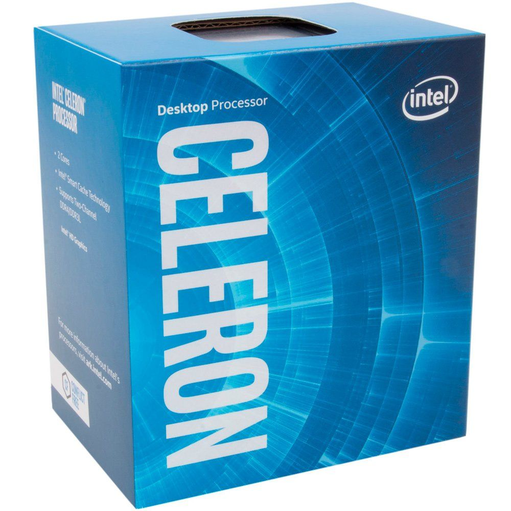 Processador INTEL G3930 Celeron (1151) 2.90 GHZ BOX - BX80677G3930 - 7A GER