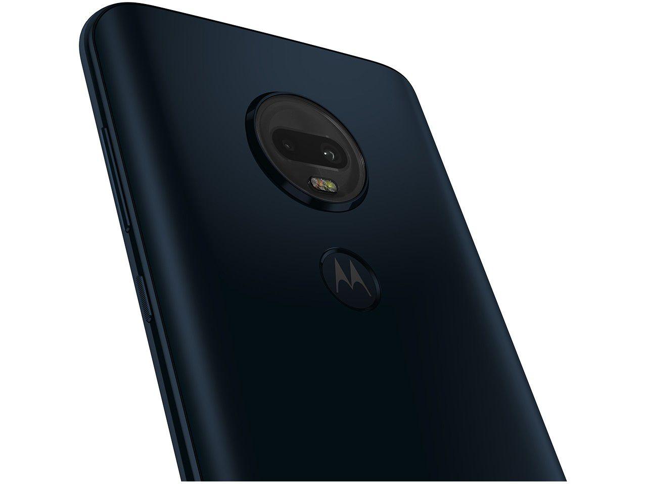 "Smartphone Motorola G7 Plus 64GB  4G - 4GB RAM Tela 6,24"" Câm. Dupla + Câm. Selfie 12MP"