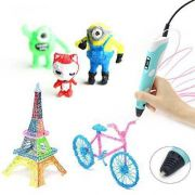 Caneta 3d Elétrica Impressora Desenhos Brinquedos Papelaria