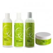 Kit Deva Curl Low Poo, One Condition, Angell e Heave in hair