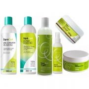 Deva Curl  Kit Decadence Angell  Set it free Heave in Super Cream