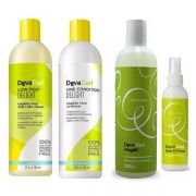 Deva Curl Delight Lowpoo One Angell Set It Free