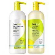 Deva Curl Kit Delight Low Poo, One (2 X 1litro)