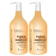 Forever Liss Force Repair Kit Reparador (Shampoo 1L + Condicionador 1L)
