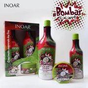 Inoar Bombar Coconut Shampoo 1l + Cond 500ml + Máscara 250g