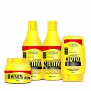 Kit Completo Profissional Maizena Capilar Mealiza Forever Liss