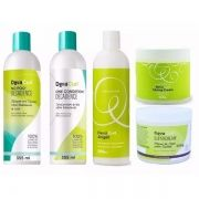 Kit Deva Curl Decadence+angell+super Cream+sltyling Cream