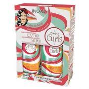 Kit Duo Inoar Divine Curls Shampoo e Condicionador 250ml