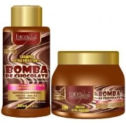 Kit Forever Liss Bomba de Chocolate Shampoo 500ml + Máscara 250g