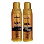Kit Glatten Banho de Verniz Shampoo e Condicionador 300ml