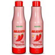 Kit Glatten Shampoo e Condicionador Malagueta 1L