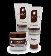 Kit Shampoo, Condicionador 500ml e Máscara SOS 500g VITALCAP