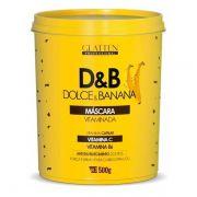 Máscara Glatten Dolce&Banana 500g