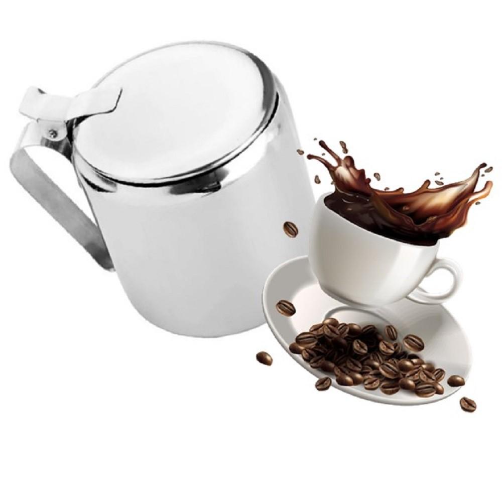 5 Bule Em Aço Inox Chá Café Leite 600ml