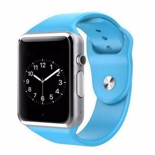 A1 Relógio Smartwatch Android, Notificações  Bluetooth, Camera  Azul