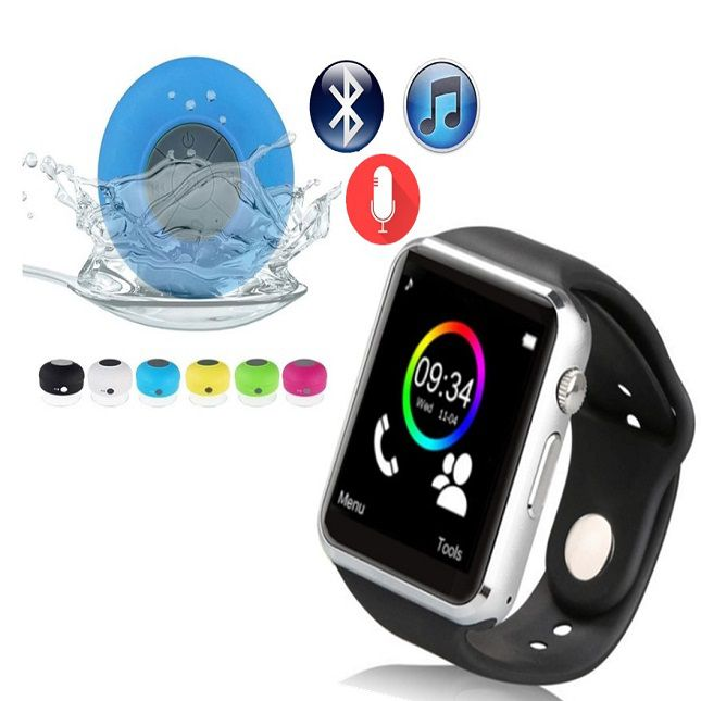 A1  Smartwatch Android WhatsApp Face Bluetooth, Camera e Caixa Som Bluetooth
