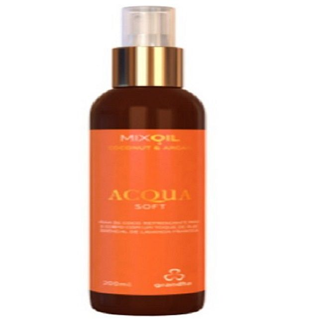 Acqua Soft 200ml Mix Oil Coconut & Argan - Grandha
