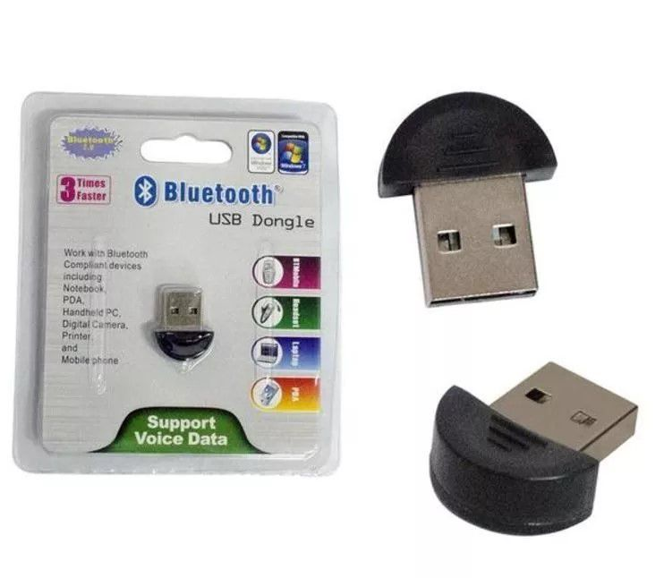 Adaptador Bluetooth Mini V2.0 Usb Dongle para PC Notebook