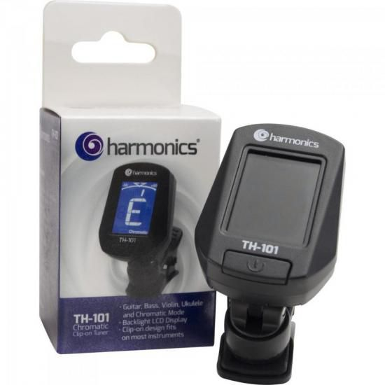 Afinador CLIP CROMATICOTH-101 Harmonics