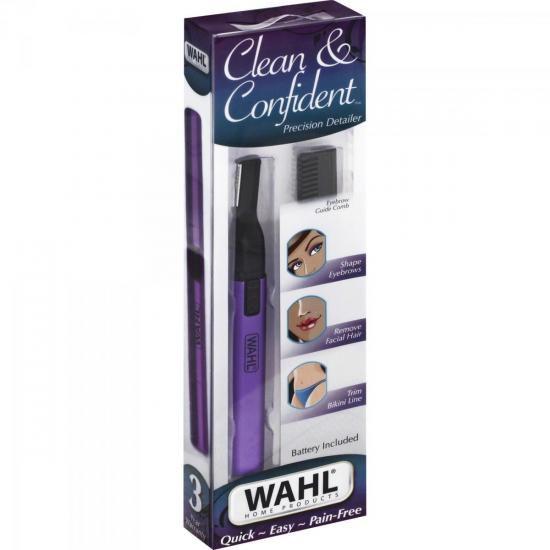 Aparador de Pelos CLEAN & CONFIDENT Roxo WAHL
