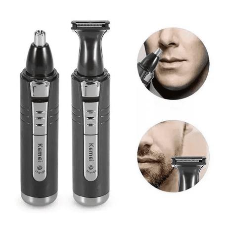 Aparador de pelos Nariz barba Cabelo Recarregável kemei