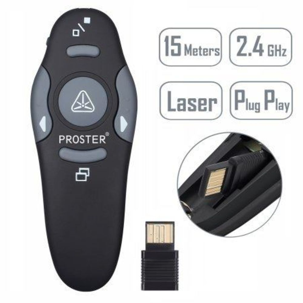 Apresentador Passador De Slides Laser Power Point Wireless