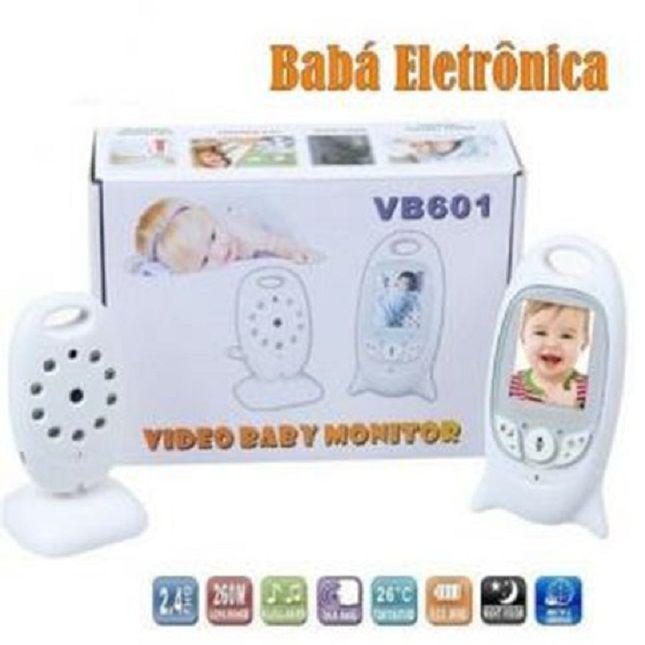 Babá Eletrônica Com Monitor -Câmera- Vídeo-Colorido Baby - VB601