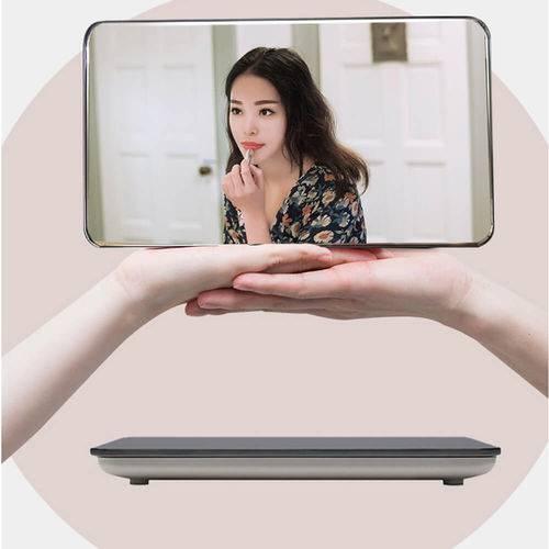 Balanca Digital 150kg Eletronica  em led com Vidro Temperado e Espelho
